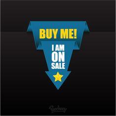 Blue sale banner
