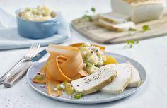 Fiskepudding med rå gulrotsalat og mandelpotetpuré | www.greteroede.no | Oppskrifter | www.greteroede.no