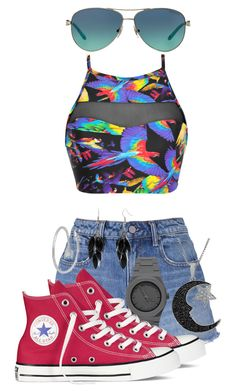 """Untitled #369"" by galaxygirl12427 ❤ liked on Polyvore featuring Blue Man, T By Alexander Wang, CC, Converse, Alexa Starr, Tiffany & Co. and Jewel Exclusive"