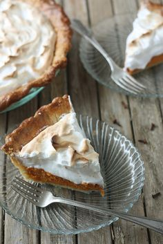 Sweet Potato Pie by completelydelicious: This sweet potato pie with marshmallow meringue is so good and so perfect for this time of year that you won't ever miss your old pumpkin pie recipe. #Pie #Sweet_Potato