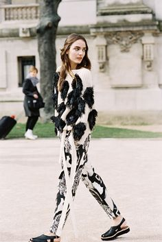 Paris Fashion Week AW 2015....Zuzanna