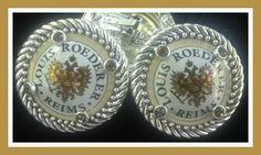 Lovely Champagne Baubles Earrings set in silver finish, clip earrings