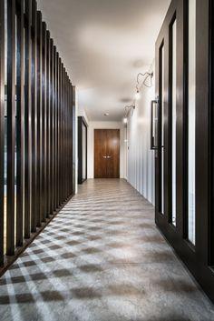 Corridor Vertical Cladding