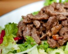 Asian Tamari Sauce Beef Salad (Atkins Diet Phase 1 Recipe) | Diet Plan 101