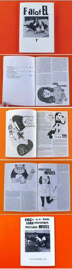 Fanzine Falafel 1 by fanzinefalafel on Etsy. $5.00, via Etsy.
