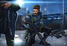Metal Gear Solid V: Ground Zeroes by PatrickBrown on deviantART