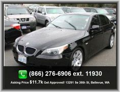 2004 BMW 5 Series 530i Sedan  Power Remote Driver Mirror Adjustment, 4-Wheel Abs Brakes, Tires: Speed Rating: V, External Temperature Display, Tires: Width: 225 Mm, Passenger Airbag, Express Open/Close Glass Sunroof, Video Monitor Location: Front, Heated Windshield Washer Jets, Seatbelt Pretensioners: Front, Gross Vehicle Weight: 4, Front Leg Room: 41.5, Metal-Look Dash Trim, Rear Bench, Passenger And Rear, Headlights Off Auto Delay, Regular Front Stabilizer Bar