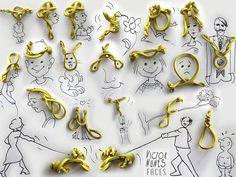 Juxtapoz Magazine - Victor Nunes Has Fun with Pen Caps