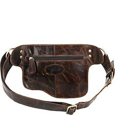 Vicenzo Leather Adonis Leather Waistpack - eBags.com
