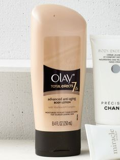 This body lotion from Olay turns back the clock seven ways—from improving elasticity to minimizing fine lines. ($7.29) #beauty #skincare #Olay