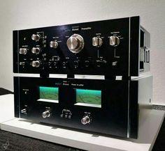 Sansui CA-2000 & BA-2000 Vintage audio Hi Fi Stereo
