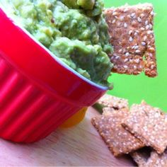 Enjoy snacking? Why not snack on your own nutritious crackers?