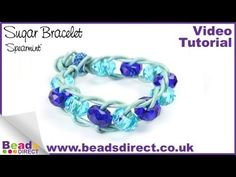 Learn to make this sugar bracelet with sparkling crystal glass beads and genuine leather cord. This simple and stylish design is a Pinterest favourite. Stacy shows you how to create your own bracelet with step by step instructions  http://www.youtube.com/watch?v=ktktAD7zqlk=UUL-KEQ-WIn_bZVw37XcMVWQ