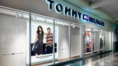 Tommy Hilfiger: TLS / LED Display / uniform lighting / retail storefront / no hotspot  More: https://www.tls-led.com/projects