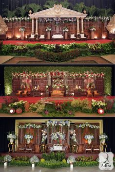 Javanese Wedding Backdrop