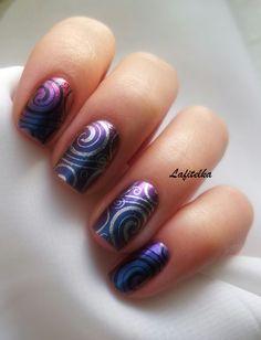 Dance Legend # 91 и Stamping nail art с Lesly LS-20