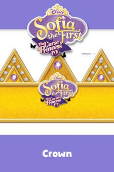 Sofia the First - The Curse of Princess Ivy - Activity - Crown