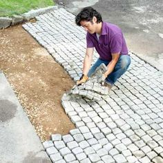 How to Build a Driveway Apron - A driveway apron is the widened area that connects the concrete driveway to the street. Even if the driveway is crushed stone or asphalt is likely to have an apron made of concrete to accommodate any traffic that might turn into the drive.