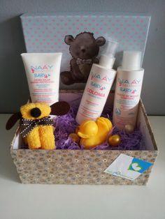 #Canastillabebé de #productosnaturales  http://www.todobionatural.com/kits-de-regalo