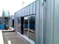 Metal Roof Ltd - Rheinzinc cladding to a Brighton roof extension