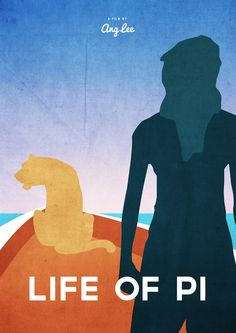 Life of Pi (2012) - Minimal Movie Poster by Dean Walton (Mr. Shabba)