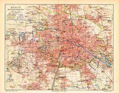 U S Defense Mapping Agency Map Of Berlin