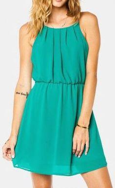 Ellen Dress in Jade