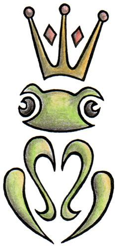 frog prince tattoo - Google Search