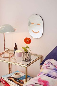 Areaware Happy Face Mirror | Urban Outfitters