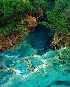 Havasu waterfall Arizona