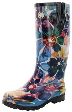 379ef8f90eb Nomad Two Puddles Women s Rubber Rain Boots. Bottes De Pluie En CaoutchoucChaussures  ...