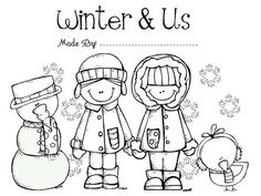 Winter Activity Story Book for pre-k and kindergarten! $