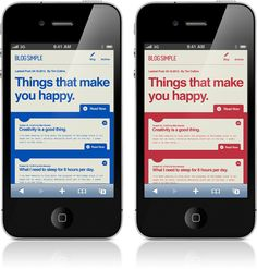 'things that make you happy'   App   iPhone