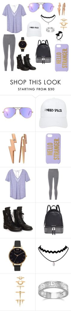 """Untitled #101"" by april-m-galli ❤ liked on Polyvore featuring Ray-Ban, Nasaseasons, Bee Goddess, Kate Spade, Victoria's Secret, T By Alexander Wang, Chanel, Michael Kors, Olivia Burton and Luv Aj"