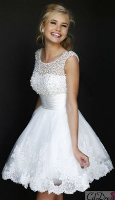 sweet 16 dress i would love this in a black or light pink