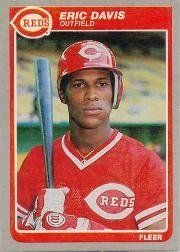 1985 Fleer Eric Davis Rookie Baseball Card #533 - Shipped In Protective Display Case! by Fleer. $4.95. Great looking baseball card of this popular player. This is just one of the thousands of collectible cards we are offering here on Amazon. This card is shipped in a protective display case to preserve its outstanding condition.