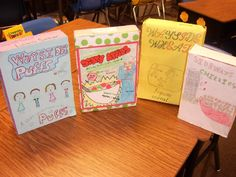 Mrs. Hall's Fourth Graders Rock this book report activity! Simple, complete directions and printables are available at this site.