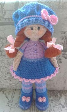 PDF Кукла Софи. Бесплатный мастер-класс, схема и описание для вязания игрушки амигуруми крючком. Вяжем игрушки своими руками! FREE amigurumi pattern. #амигуруми #amigurumi #схема #описание #мк #pattern #вязание #crochet #knitting #toy #handmade #поделки #pdf #рукоделие #кукла #куколка #doll