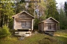 Finnish old storage houses, usually for crops Good Old Times, Finland, Art History, Cottages, Contemporary Design, Shed, Outdoor Structures, Country, Architecture