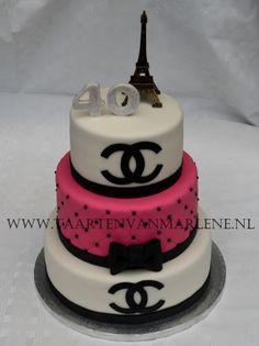 prada taart Zwart roze witte taart | My cakes | Pinterest | Cake prada taart