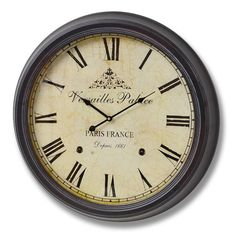 Found it at Wayfair.co.uk - Versailles Oversized 62cm Palace Wall Clock