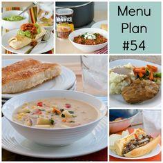 Menu Plan Monday - Week 54 - Real Mom Kitchen