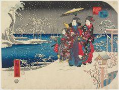 hiroshige woodblock prints | Utagawa Hiroshige