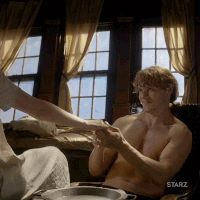 season 3 flirting GIF by Outlander