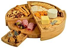 Easy Appetizer Recipes to Impress! 34 Fast Party Pleasing Dishes Wooden Cheese Board, Cheese Board Set, Cheese Platters, Serving Platters, Serving Utensils, Serving Board, Picnic At Ascot, Cheese Knife Set, Best Cheese