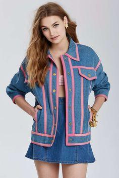 Vintage Chanel Cenon Denim Jacket