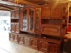 German Schrank Ounced By Most As Shrunk This Is Just Like Mine Only My Center Pieces Gl Curios Are All The Way Down