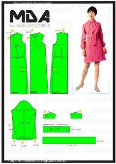 ModelistA: A4 NUM 0103 DRESS