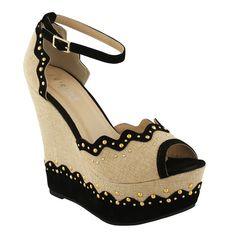 Bonnie Wedge Heels