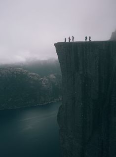 Prekestolen in Norway by Mark Weinberg Incredible spot, but oh dear Lord.. what a DROP!!    #Keepingmyeyesshut